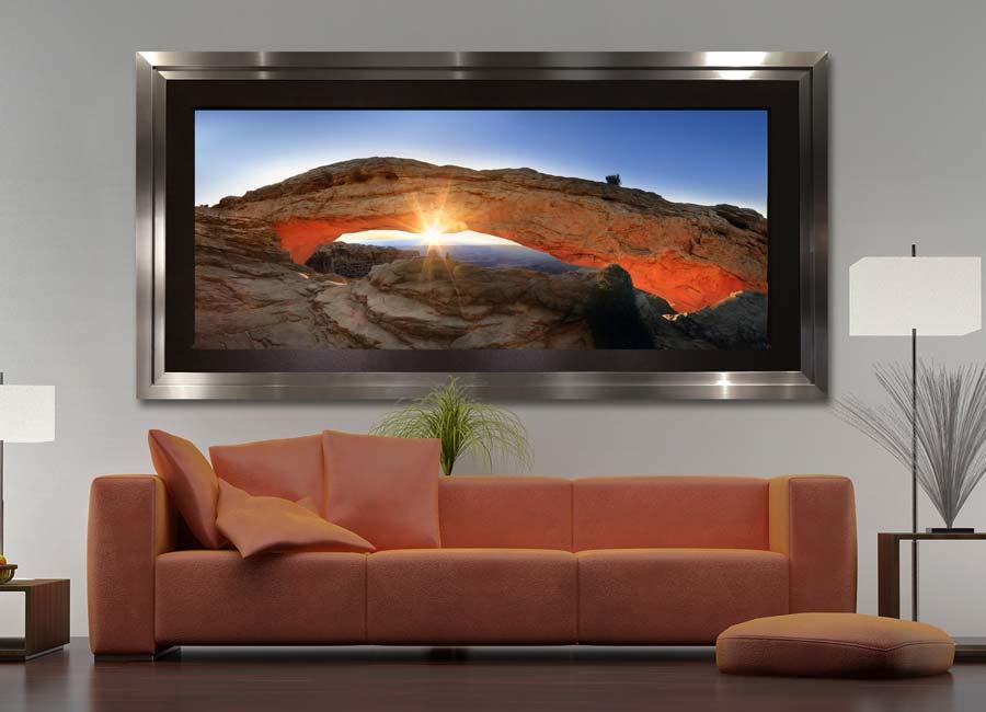 Framed Large Format Photography